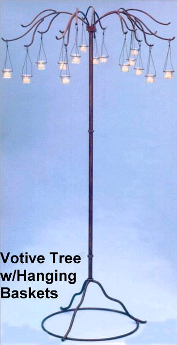 Where to rent VOTIVE TREE w  HANGING VOTIVES, 6.5 in State College PA, Altoona PA and surrounding metro areas