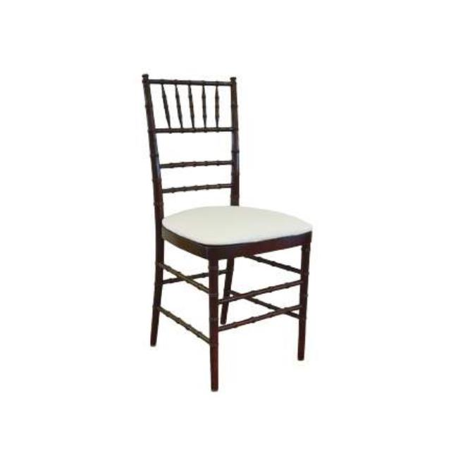Where to rent CHIAVARI CHAIR - MAHOGANY WOOD in State College, Altoona and all of Central Pennsylvania