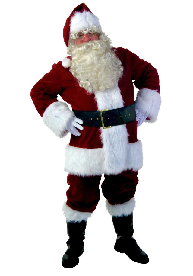 Where to rent DELUXE SANTA COSTUME, XLG in State College, Altoona and all of Central Pennsylvania